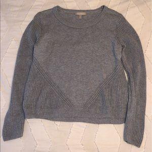 Banana Republic Scoop Neck Slate Sweater